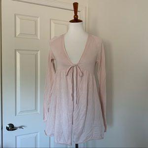 🆕Gap Body ballerina pink cardigan